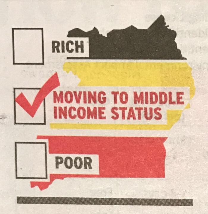 Uganda's wish for MIC status